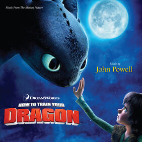 Front cover of the How to Train Your Dragon soundtrack