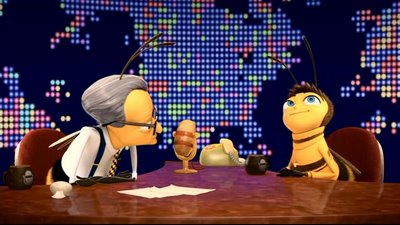 Image result for bee larry king bee movie