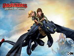 Dragons Riders of Berk Wallpapers