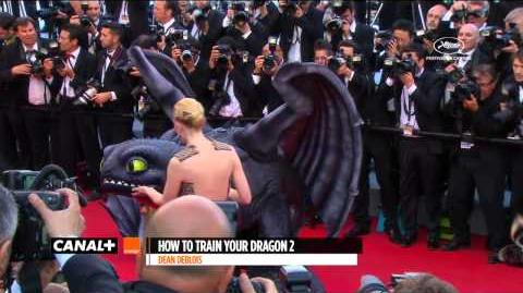 Cannes 2014 HOW TO TRAIN YOUR DRAGON 2 - Red Carpet