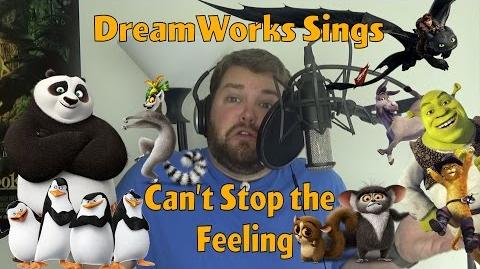 DreamWorks Sings Can't Stop the Feeling