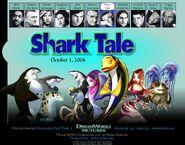 Dreamworks' Shark Tale (2003) Don Brizzi official site teaser poster