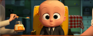 Boss Baby Alarmed