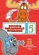 Rocky and Bullwinkle And Friends Season 5 DVD
