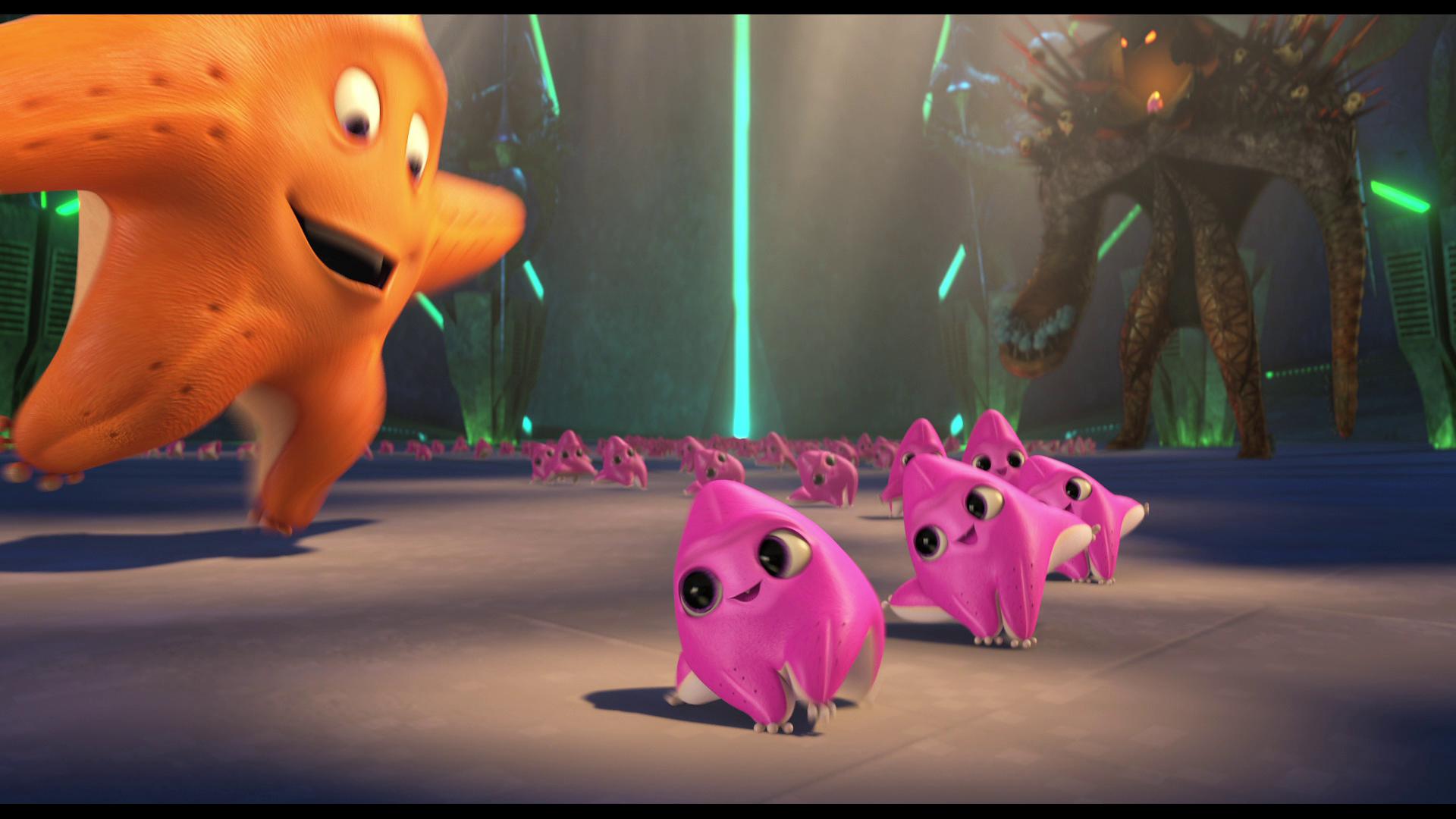 3d animation alien invasion 1 - 4 8