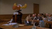 Bullwinkle the moose is a lawyer