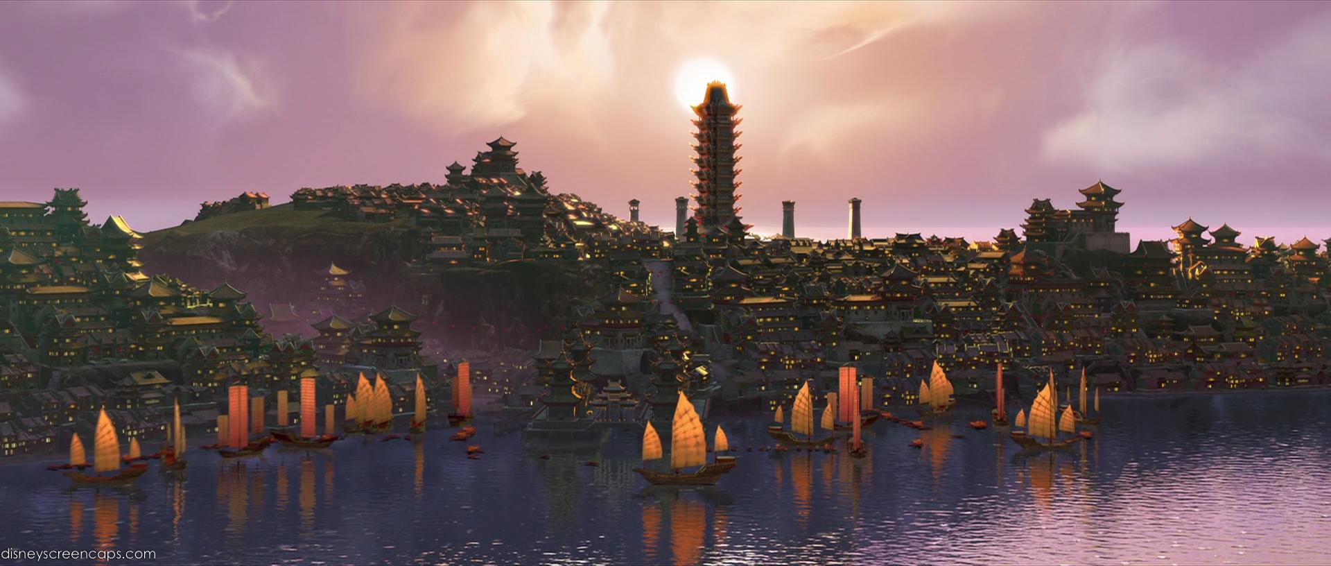 Kung Fu Panda 2 city
