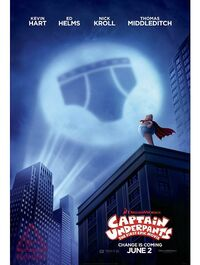 Captain Underpants The First Epic Movie poster