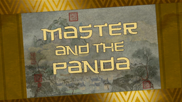Master and the Panda title