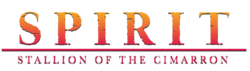 Spirit Stallion of the Cimarron logo