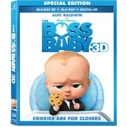 The Boss Baby Blu-Ray 3D Cover