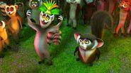 King Julien and Lemurs