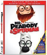 Mr. Peabody and Sherman Blu-ray 3D