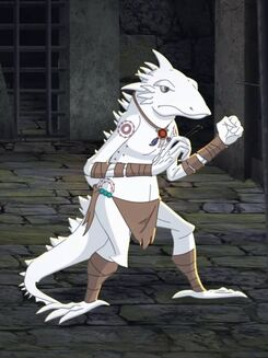 Xava (Mute white lizard)