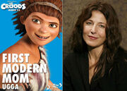 Catherine keener voices ugga in THE CROODS