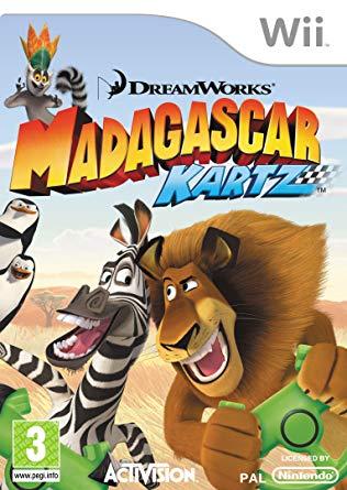Madagascar Kartz for Wii game cover