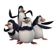 Pinguinos Madagascar