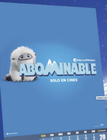 Abominable 2019 Poster