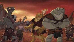 Killara's Lizard Mercenaries