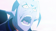Lotor face the Voltron