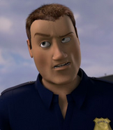 Over the Hedge Police Officer