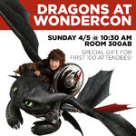 Dragons Wondercon