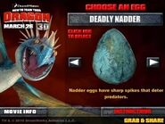 Deadly nadder egg