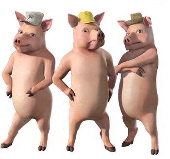 Three Little Pigs  Dreamworks Animation Wiki  FANDOM powered by