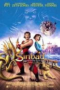 Sinbad - Legend of the Seven Seas poster