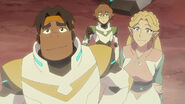 Pidge, Hunk and Romelle