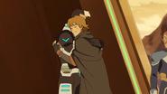 Shiro and Matt hug