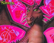 Un-wallpaper-del-drago-per-il-film-shrek-terzo-118322