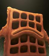 Scared Shrekless Waffle