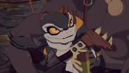 Commander Vane reports to Lord Darkan