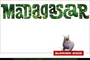 Dreamworks' Madagascar (2003) Official Site teaser poster
