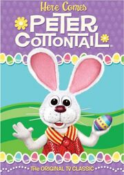 Here Comes Peter Cottontail DVD cover