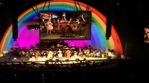 2014-07-18 Hollywood Bowl Dreamwork animation 20 years anniversary concert! ending-I like to move it