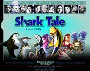 Dreamworks' Shark Tale (2003) Don Lino official site teaser poster