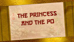 The Princess and the Po title