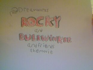 Rocky and Bullwinkle And Friends The Movie title card
