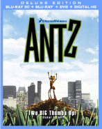 DreamWorks' Antz Deluxe Edition Blu-ray 3D