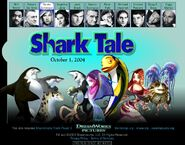 Dreamworks' Shark Tale (2003) Angie official site teaser poster