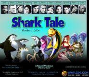 Dreamworks' Shark Tale (2004) official site teaser poster