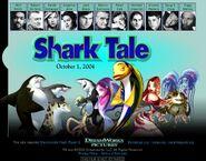 Dreamworks' Shark Tale (2003) official site teaser poster