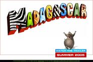 Dreamworks' Madagascar (2004) Official Site teaser poster