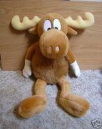 Bullwinkle the moose twentyfive inch plush toy