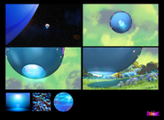 Home Concept - Storyboard planet