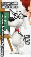 Mr. Peabody Dog Costume