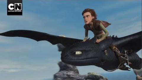 Hiccup and Snoutlout Race For Thawfest Title Dragons Riders of Berk Cartoon Network