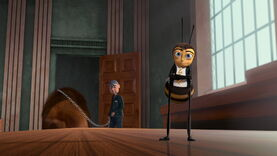 Vincent's defeat in Bee Movie